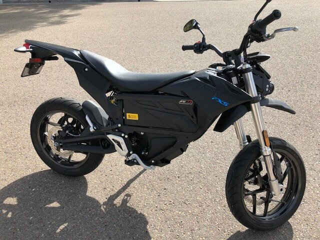 2018 Zero FXS All Electric Motorcycle