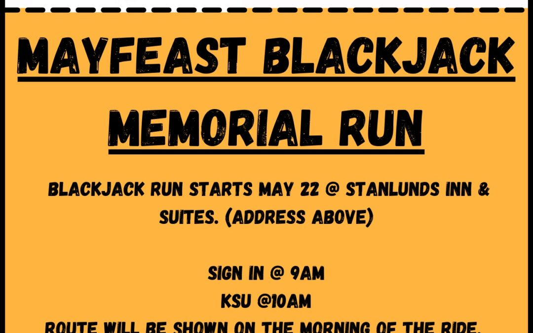 Bellymen May feast Memorial Run