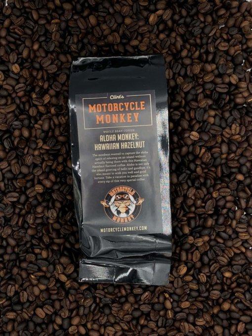 Aloha Monkey Hawaiian Hazelnut Coffee