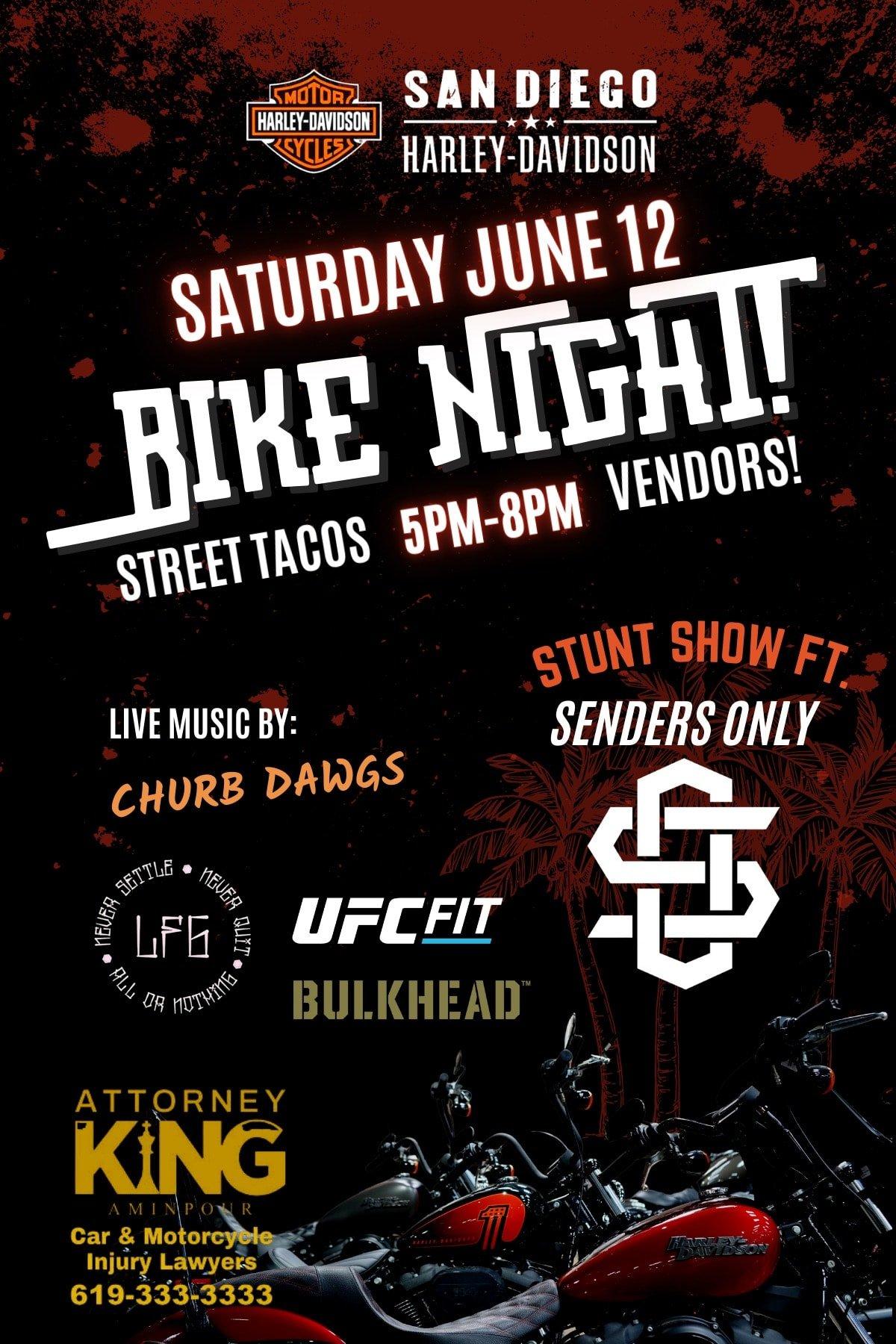 Bike Night at SD Harley