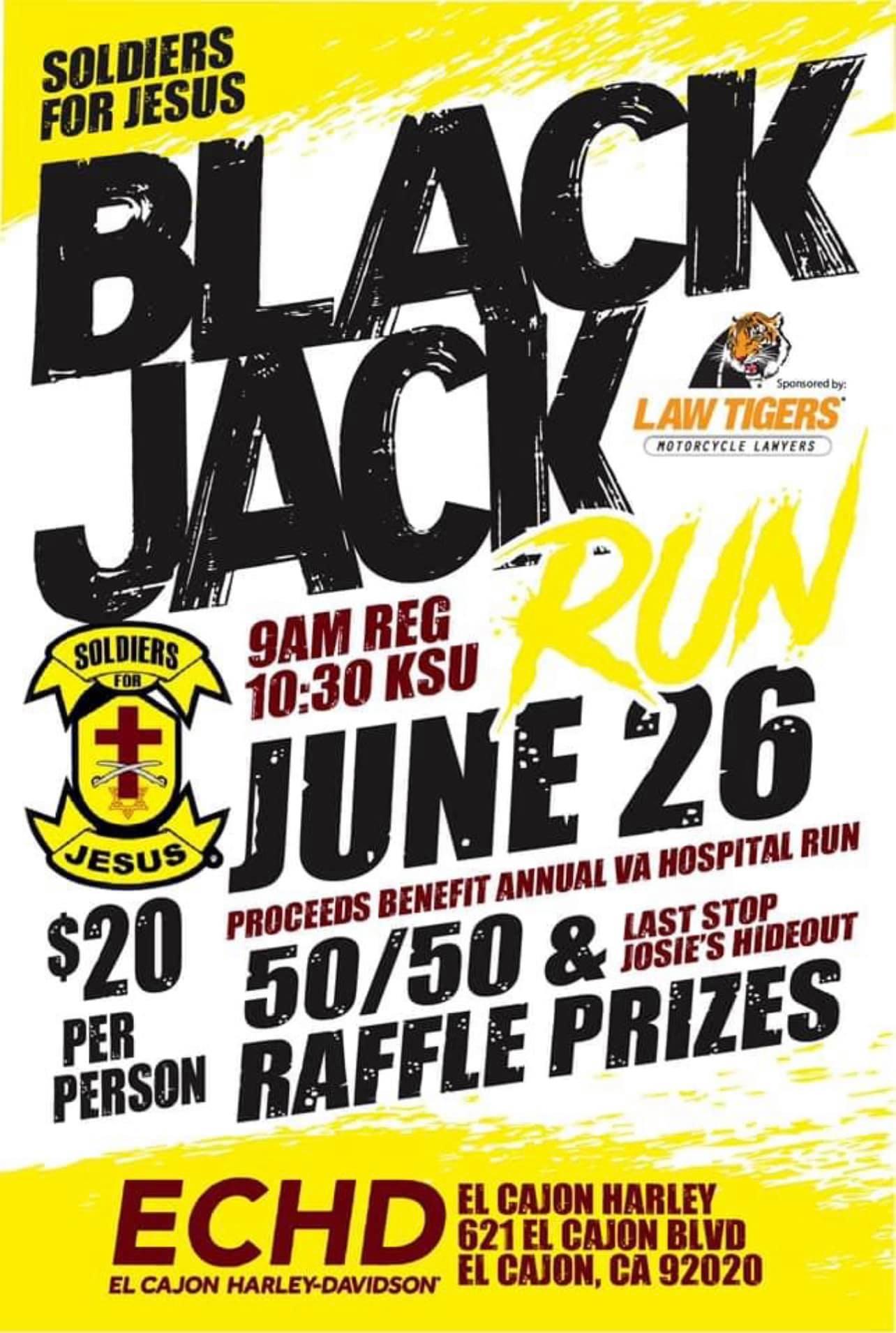 Soldier's For Jesus Black Jack Run
