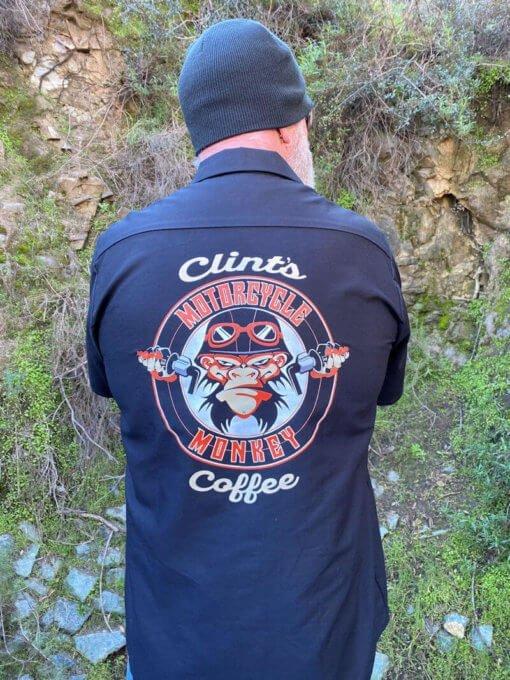 Coffee Shop Shirt Black