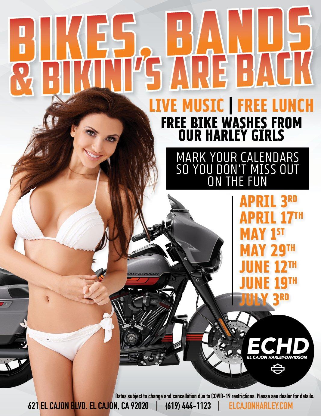 Bikes, Bands, Bikinis