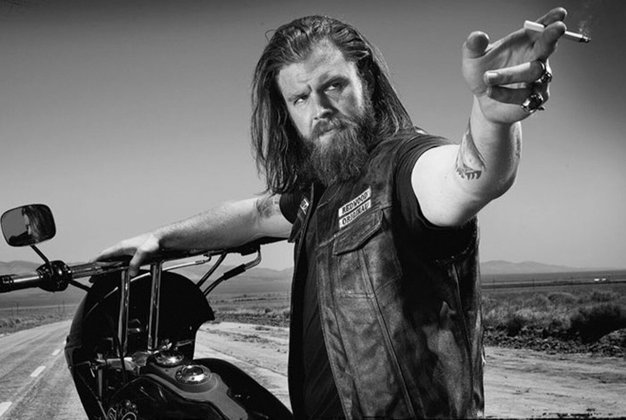 Clint's Ride Club With Opie From S.O.A.