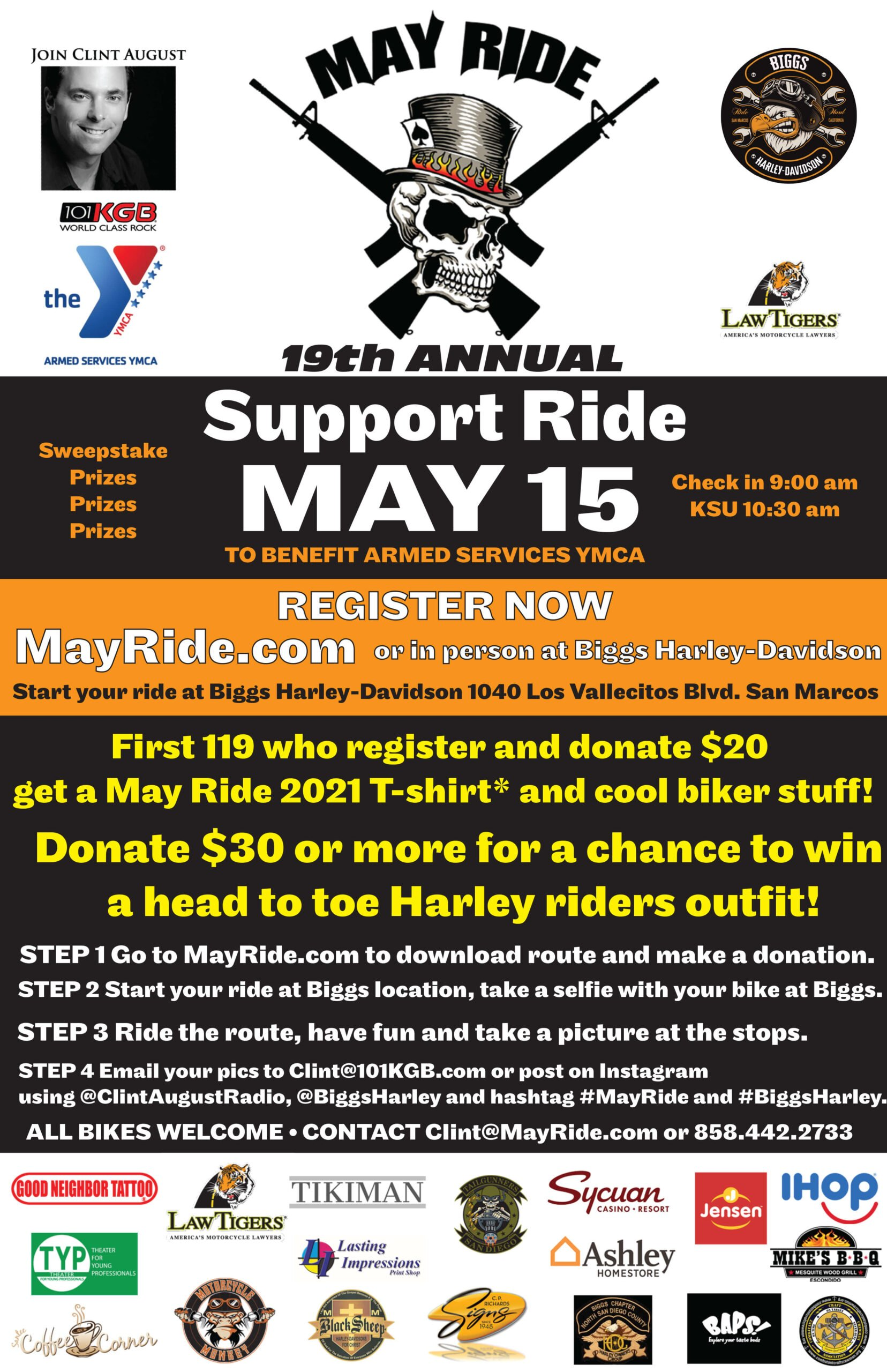The 19th Annual May Ride 2021!!!