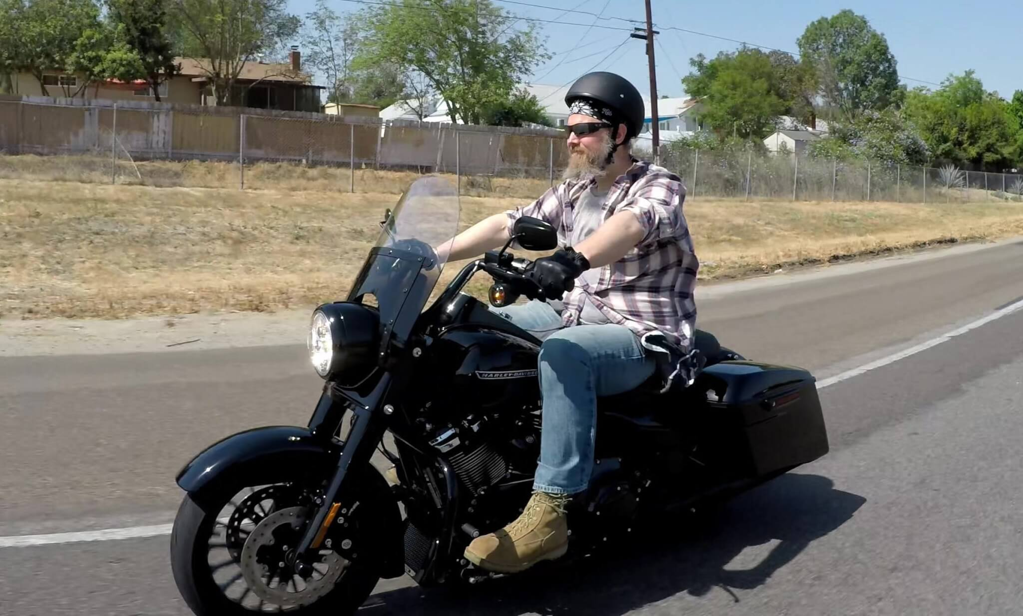 Opie From Sons Of Anarchy Rides The Road King
