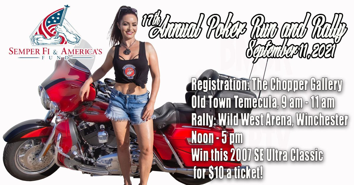 17th Annual Poker Run & Rally