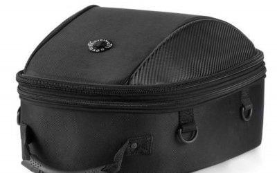 Viking Large Black Street/Sportbike Tail Bag