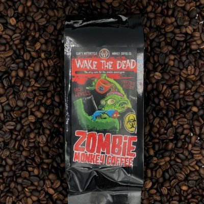 Zombie Monkey High Caffeine Coffee